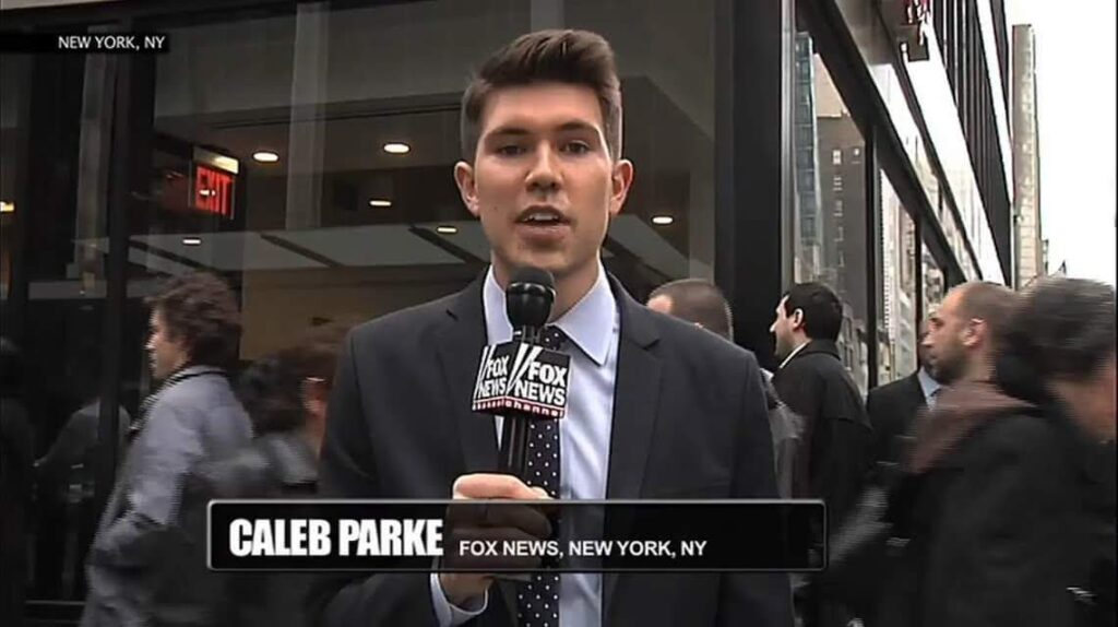 Caleb Parke reporting in NYC
