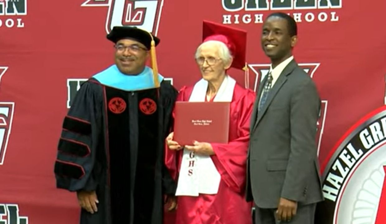 'Better Late Than Never': 94-Year-Old Alabama Woman Gets High School Diploma