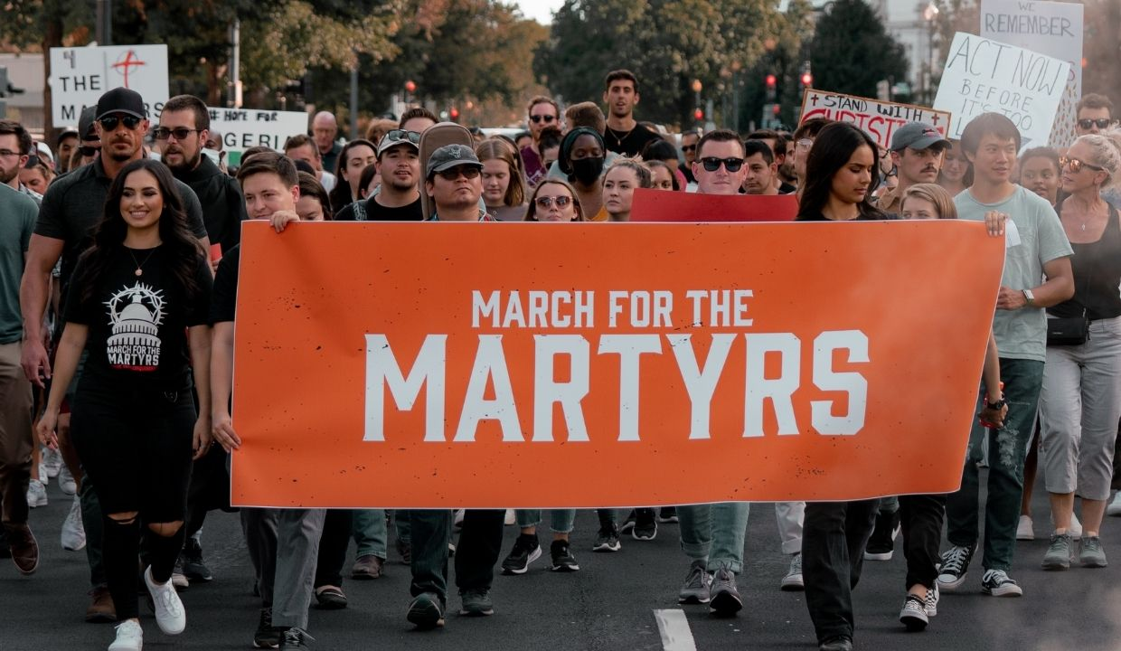 'Jesus Christ Still Has the Victory': Hundreds March for Persecuted Church