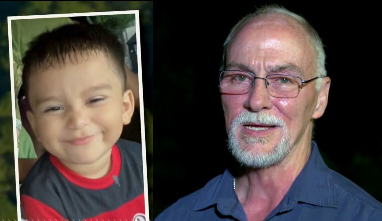 'God laid it on my heart': Man finds boy, 3, missing for several days in the woods